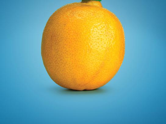 Calgary Farmers' Market Print Ad -  Lemon