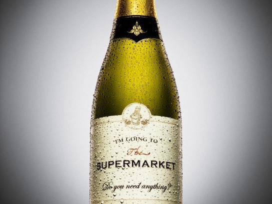 Zurich Print Ad -  Champagne