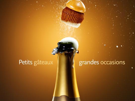 Petits Gâteaux Print Ad -  Champagne