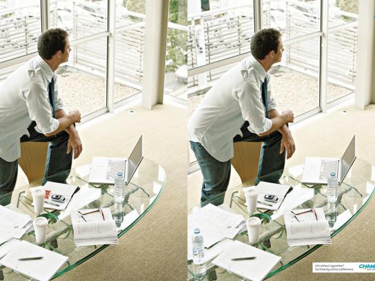 Pfizer Print Ad -  Office