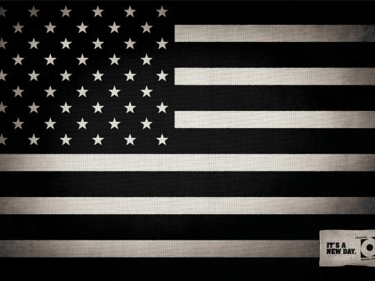 Channel O Print Ad -  Stars and stripes