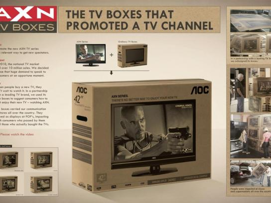 AXN Direct Ad -  TV Boxes
