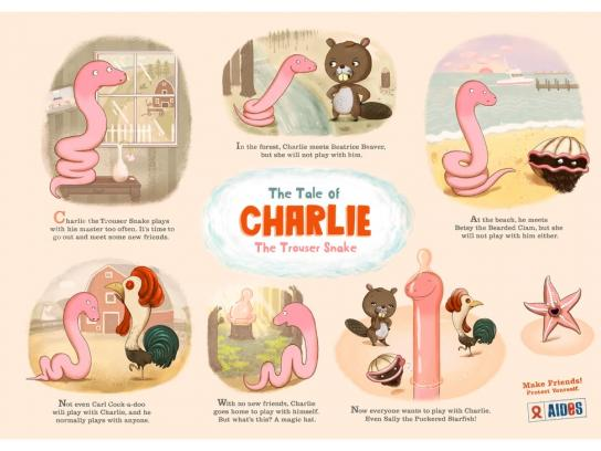 Aides Print Ad -  Charlie