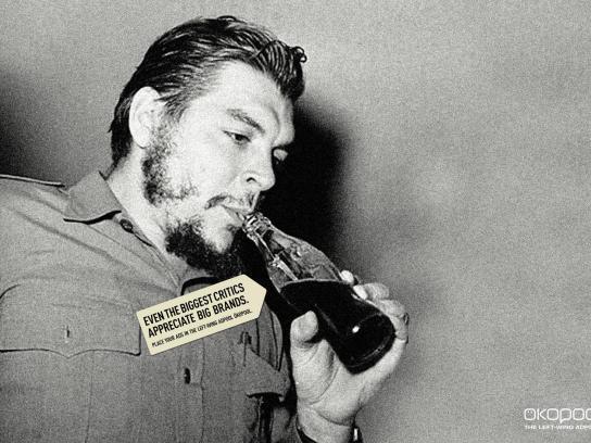 Oekopool Print Ad -  Che Guevara