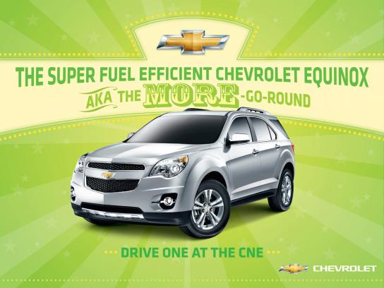 Chevrolet Outdoor Ad -  More-Go-Round