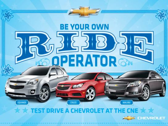 Chevrolet Outdoor Ad -  Operator
