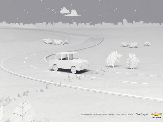 Chevrolet Print Ad -  Hedgehogs