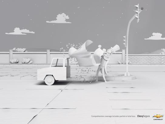 Chevrolet Print Ad -  Magician