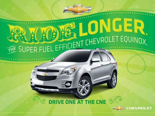 Chevrolet Outdoor Ad -  Ride Longer