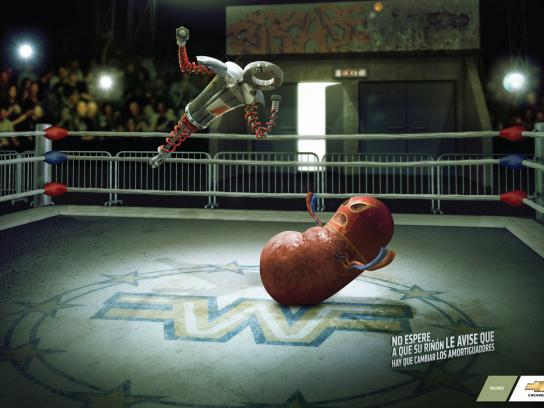 Chevrolet Print Ad -  Shock absorber