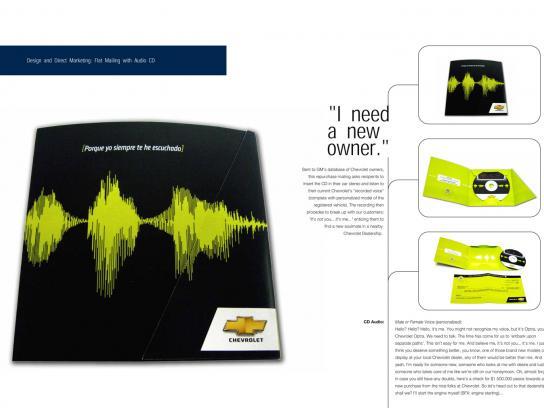 Chevrolet Direct Ad -  CD