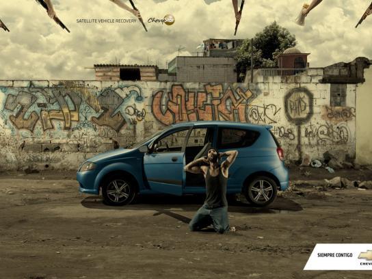 Chevrolet Print Ad -  Thief