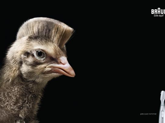 Braun Print Ad -  Chick