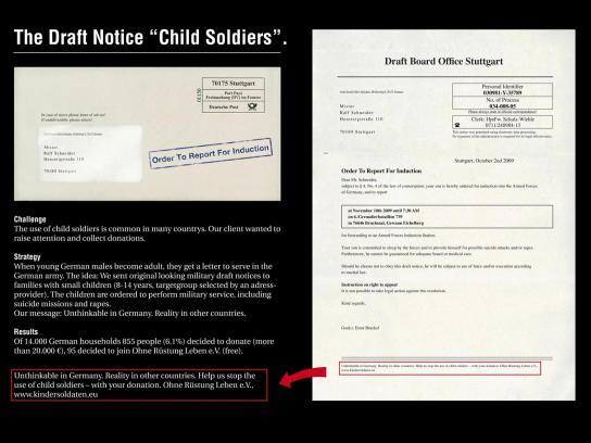 Ohne Rüstung Leben Direct Ad -  Letter