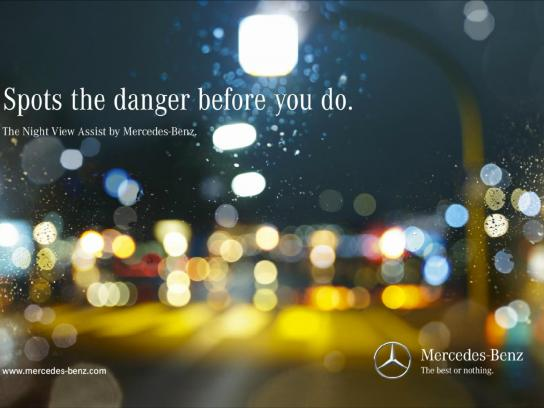 Mercedes Print Ad -  Child