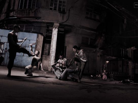 China Organization Against Domestic Violence Print Ad -  Mob