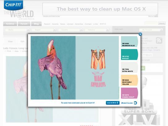 Sherwin-Williams Digital Ad -  Chip It!