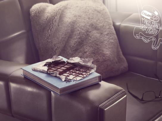 Calorilight Print Ad -  Chocolate