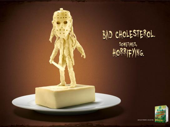Aloe Cholestop Print Ad -  Friday the 13th