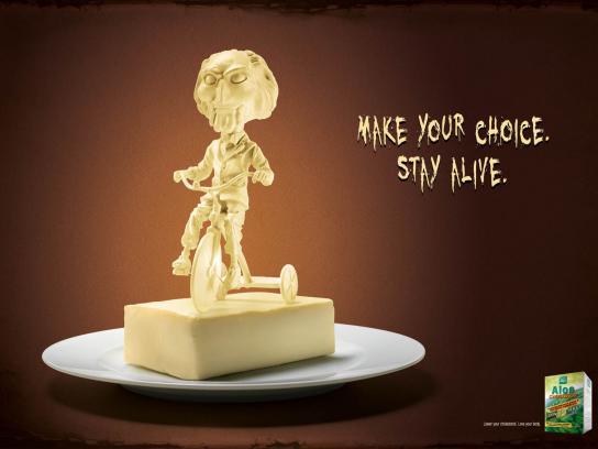 Aloe Cholestop Print Ad -  Saw