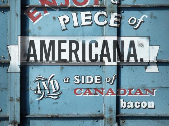 The Choo Choo Grill Print Ad -  Americana