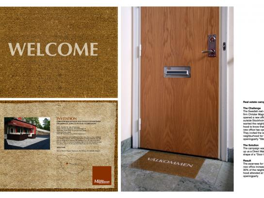 Christer Magnusson Direct Ad -  Doormat