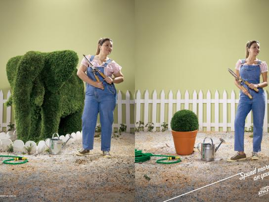 Companhia Athletica Print Ad -  Gardening