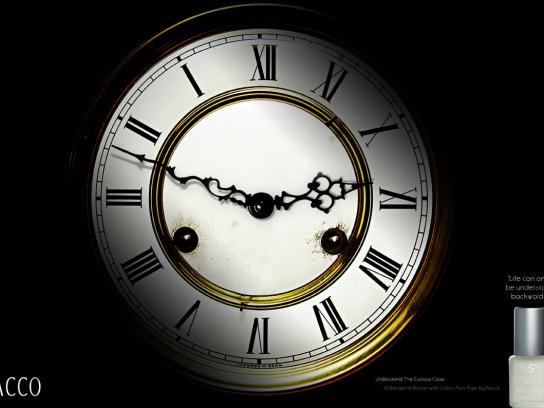 Racco Print Ad -  Clock