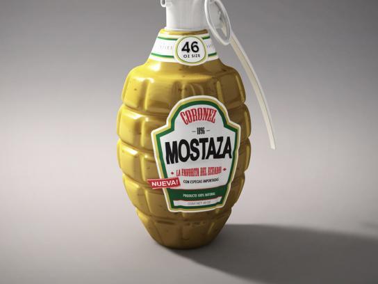 Cierto Print Ad -  Mustard
