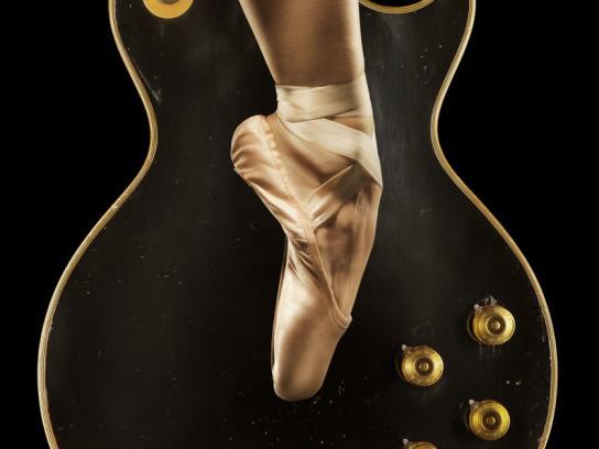 Cincinnati Ballet Outdoor Ad -  Guitar