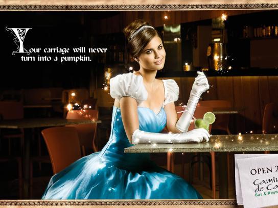 Caminho de Casa Print Ad -  Cinderella