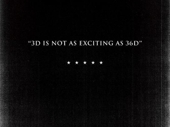 Cinéma l'Amour Print Ad -  3D