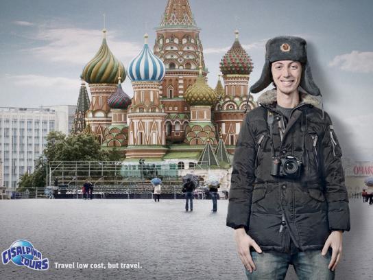 Cisalpina Tours Print Ad -  Moscow