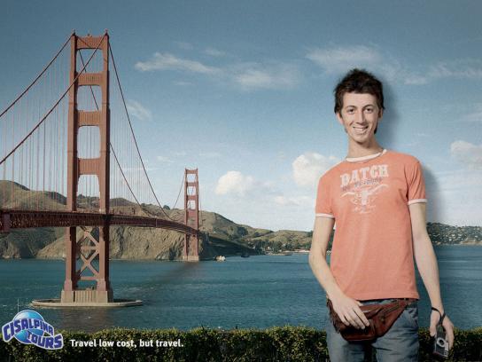 Cisalpina Tours Print Ad -  San Fransisco