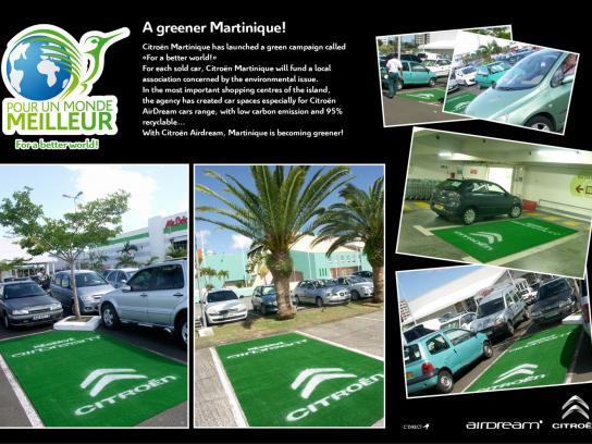 Citroën Ambient Ad -  A greener Martinique!