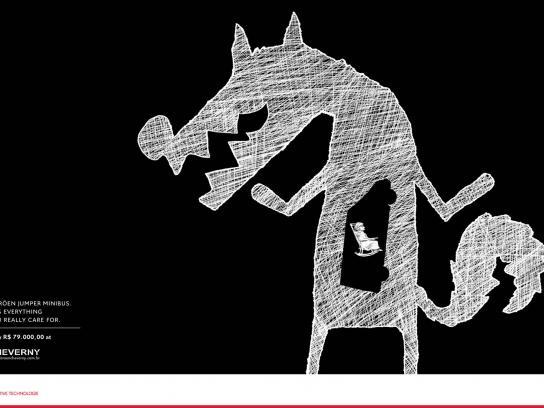 Citroën Print Ad -  Wolf