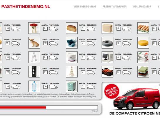 Citroën Digital Ad -  pasthetindenemo.nl
