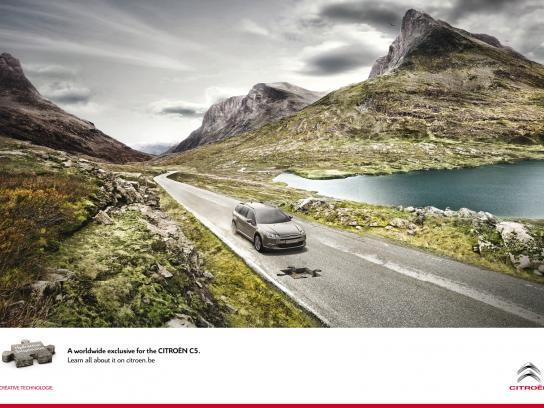 Citroën Print Ad -  Puzzle