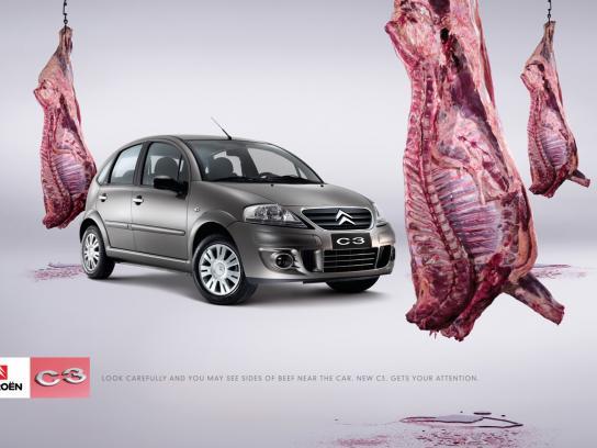 Citroën Print Ad -  Meat
