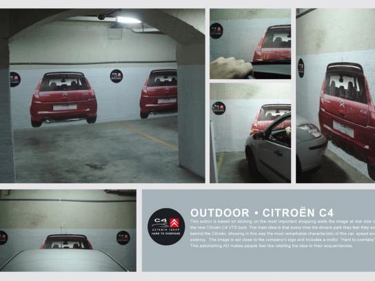 Citroën Ambient Ad -  Parking
