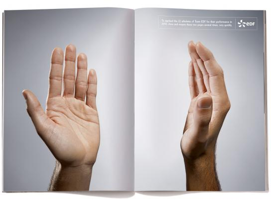 EDF Print Ad -  Clap Clap