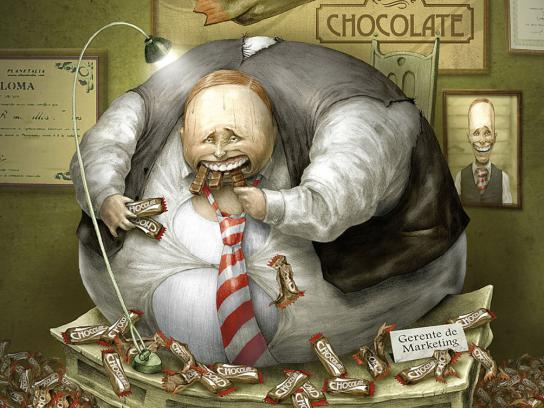 Clarin Print Ad -  Chocolate