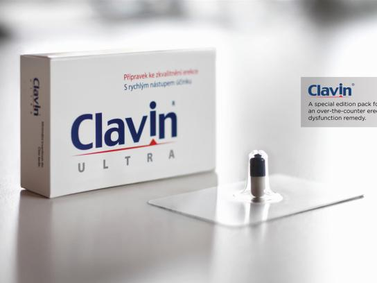 Clavin Direct Ad -  Erection Blister Packaging