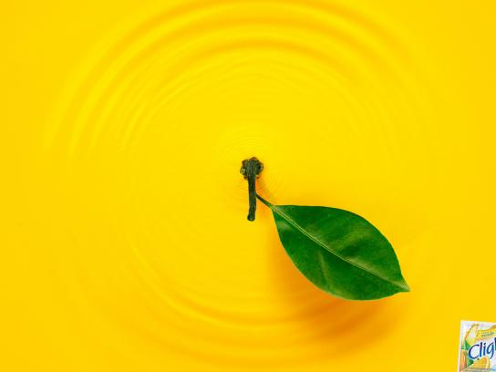 Clight Print Ad -  Liquid Fruit, Orange
