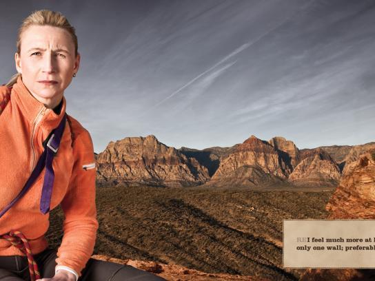 REI Print Ad -  Climber