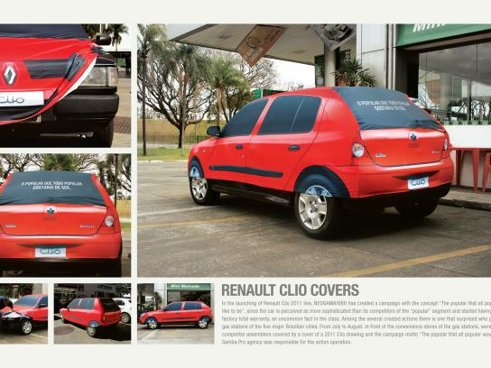 Renault Ambient Ad -  Covers