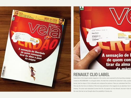 Renault Print Ad -  Label