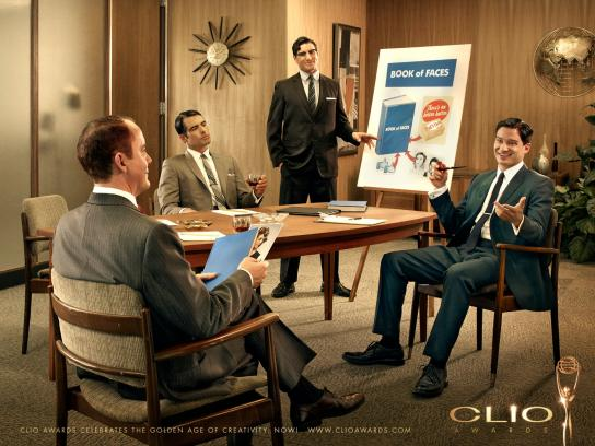 CLIO Awards Print Ad -  Book of Faces