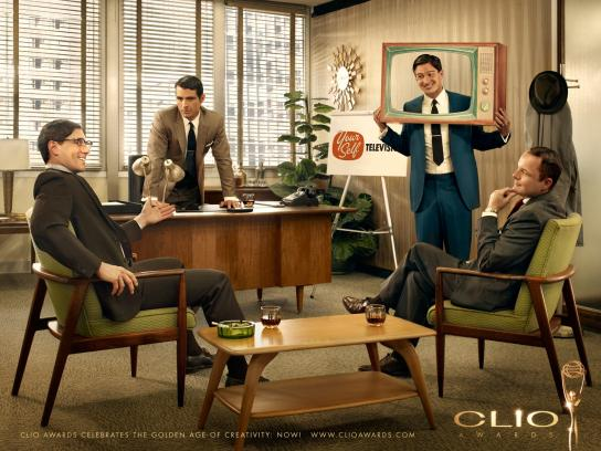 CLIO Awards Print Ad -  Yourself Television