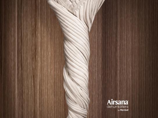 Airsana Print Ad -  Closet, 2